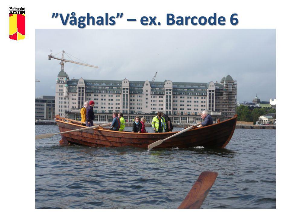 """Forbundet KYSTEN """"Våghals"""" – ex. Barcode 6"""