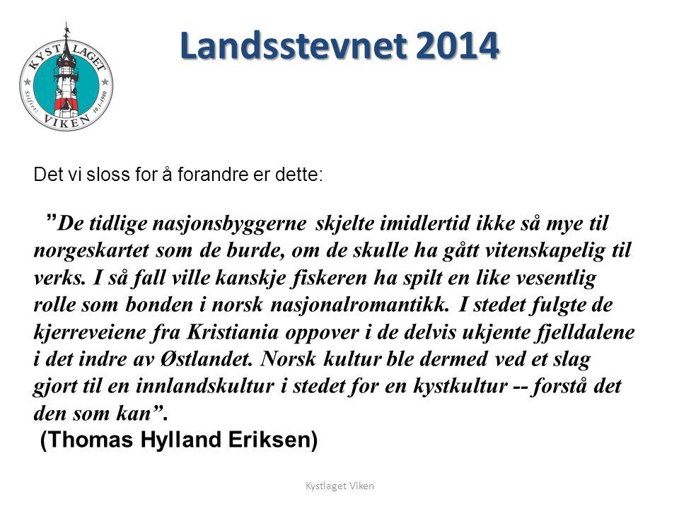 """Det vi sloss for å forandre er dette: """" De tidlige nasjonsbyggerne skjelte imidlertid ikke så mye til norgeskartet som de burde, om de skulle ha gått"""