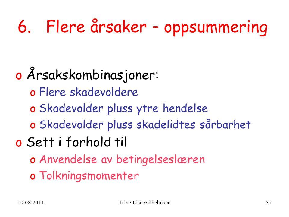 19.08.2014Trine-Lise Wilhelmsen57 6.