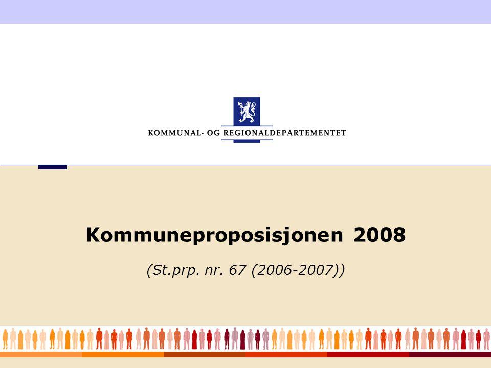 Kommuneproposisjonen 2008 (St.prp. nr. 67 (2006-2007))
