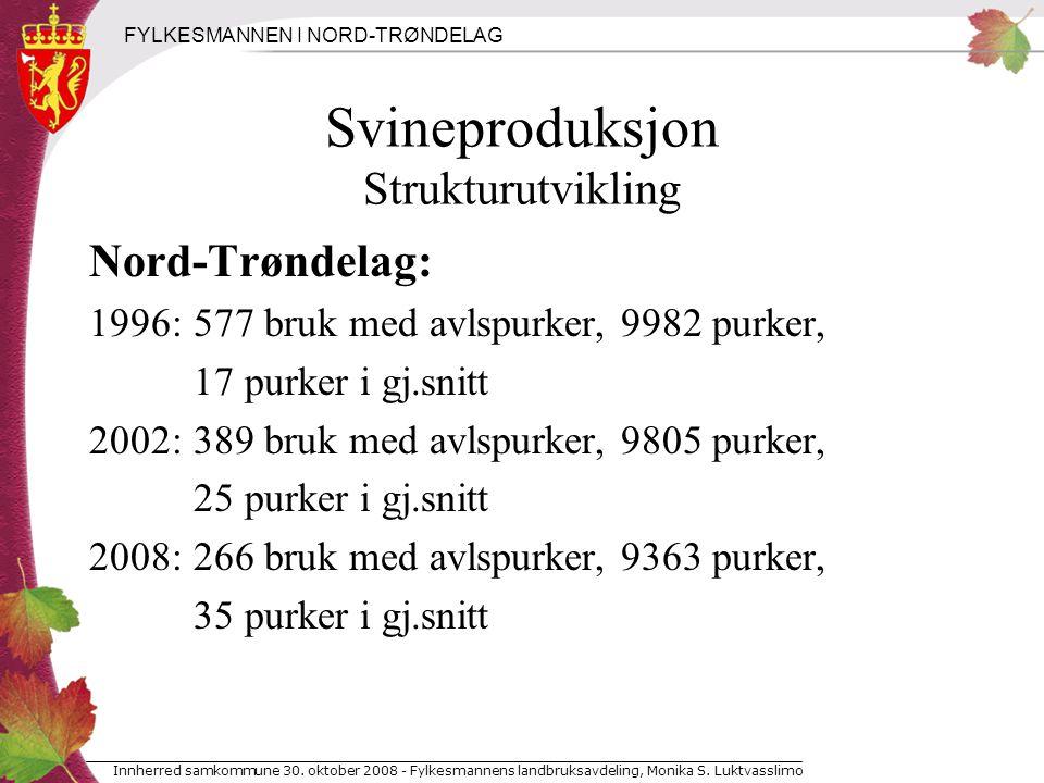 FYLKESMANNEN I NORD-TRØNDELAG Innherred samkommune 30.
