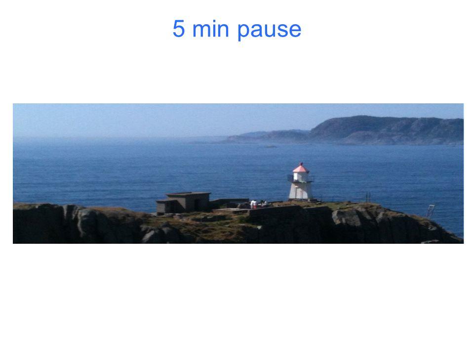5 min pause