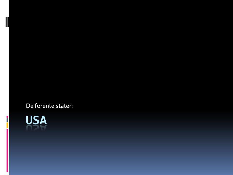 De forente stater: