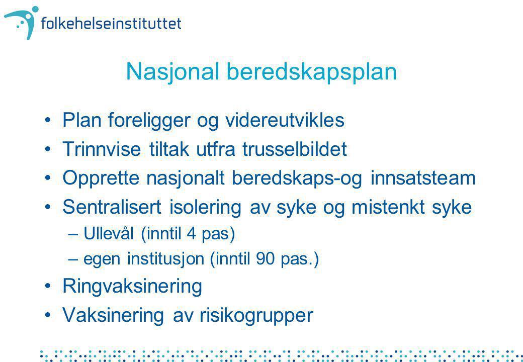 Nasjonalt beredskaps- og innsatsteam infeksjonsmedisiner (med.