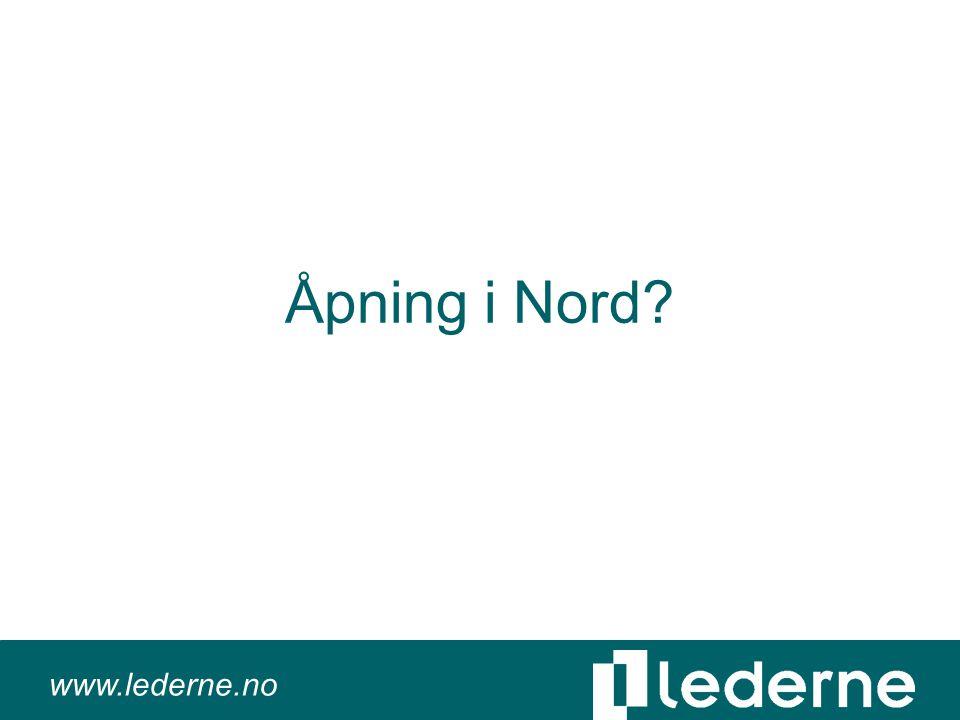 www.lederne.no Åpning i Nord