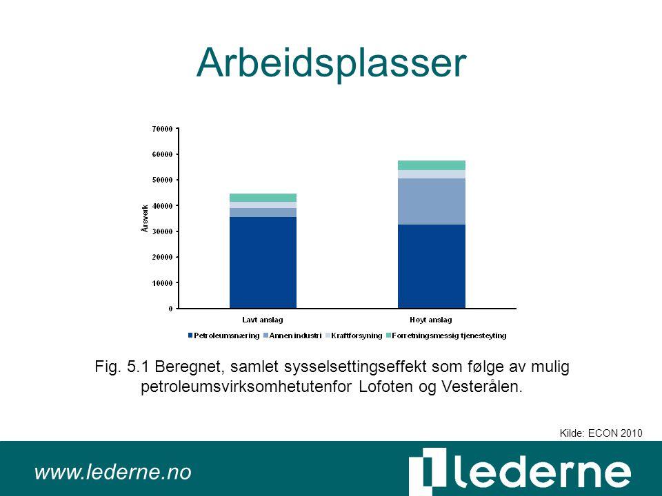 www.lederne.no Arbeidsplasser Fig.