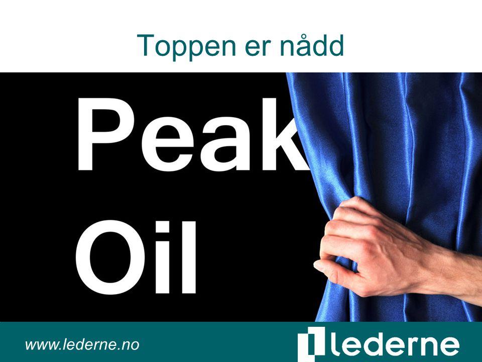 www.lederne.no Toppen er nådd