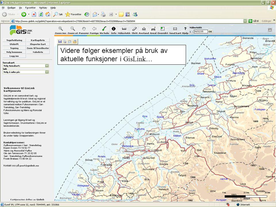 Kartsøk etter gateadresse 1.Velg adressesøk fra nedtrekksmenyen 2.