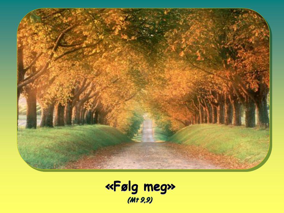 «Følg meg» (Mt 9,9) «Følg meg» (Mt 9,9)