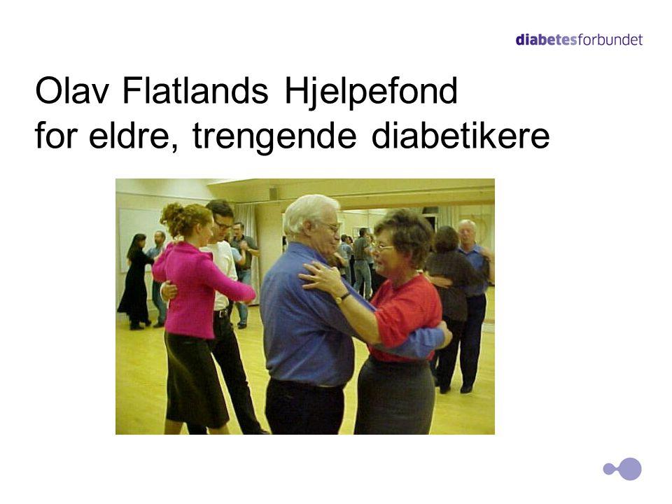 Olav Flatlands Hjelpefond for eldre, trengende diabetikere 18