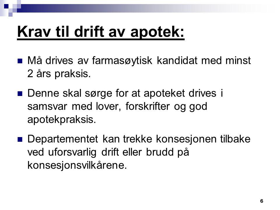 27 Statens Legemiddelverk: Er forvaltningsorganet på legemiddelområdet.