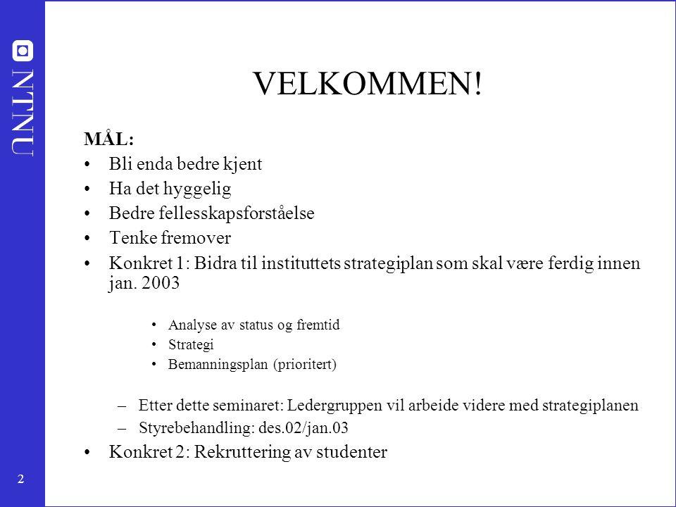 13 Pulp and paper technology Professor Øyvind Gregersen (2003) (papir som mat.) Førsteam.