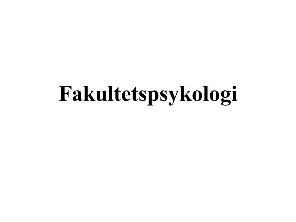 Fakultetspsykologi