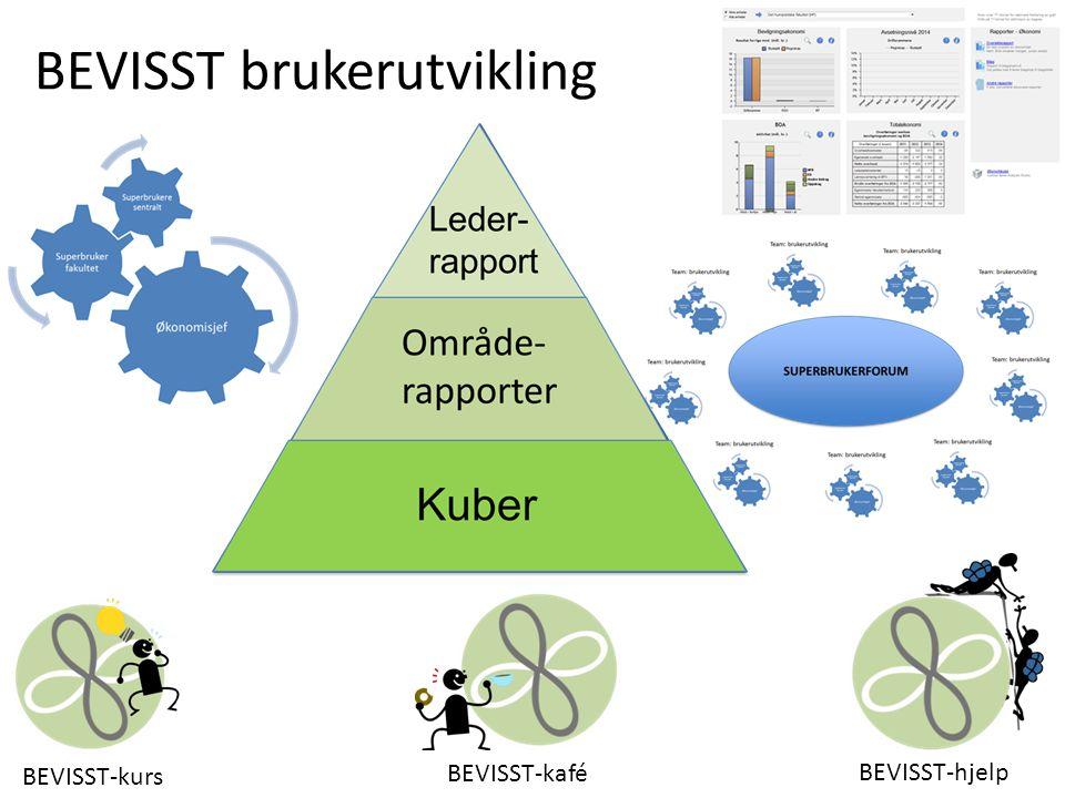 BEVISST-kurs BEVISST-hjelp BEVISST-kafé BEVISST brukerutvikling