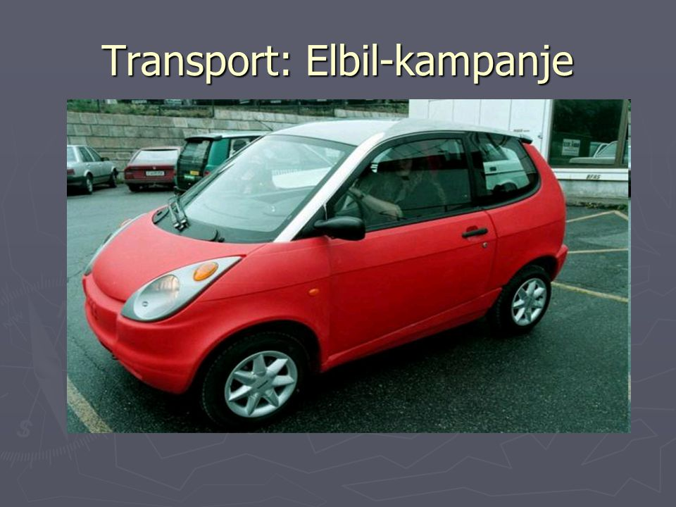 Transport: Elbil-kampanje