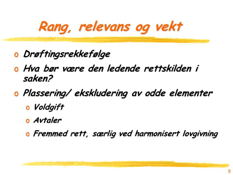 30 Begreper (termer): Nordland-dommens bruk av fraktførerbegrepet Vegfraktloven § 27 må forstås slik at den som anses som fraktfører, er ansvarlig direkte overfor eieren av godset.