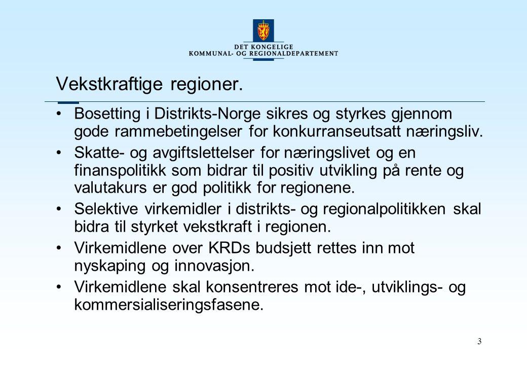 3 Vekstkraftige regioner.