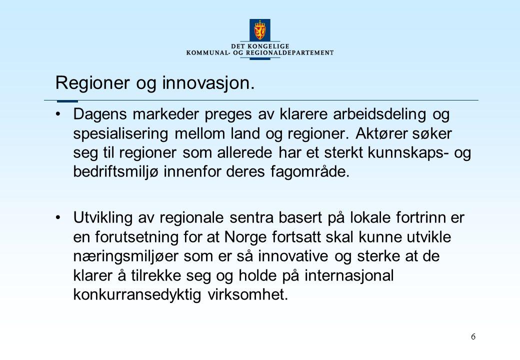 6 Regioner og innovasjon.