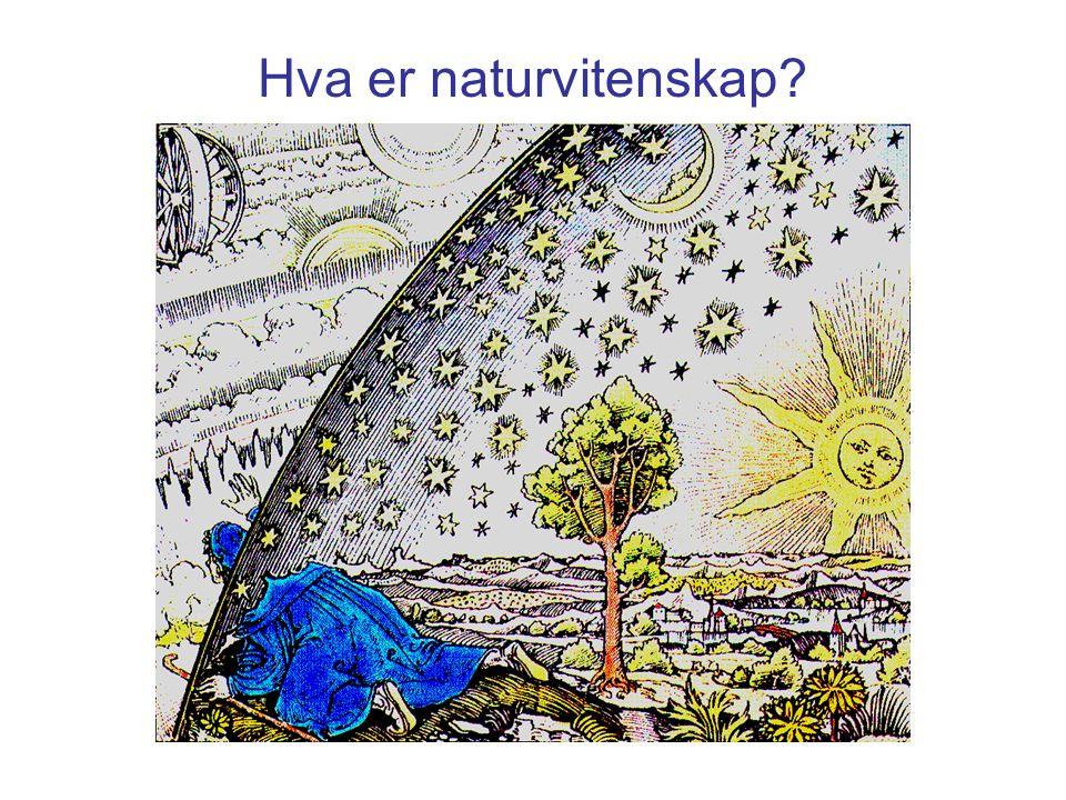 Studiet av naturen Beskrivelse av naturen