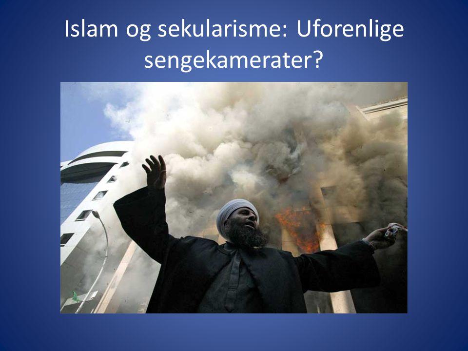Islam og sekularisme: Uforenlige sengekamerater?