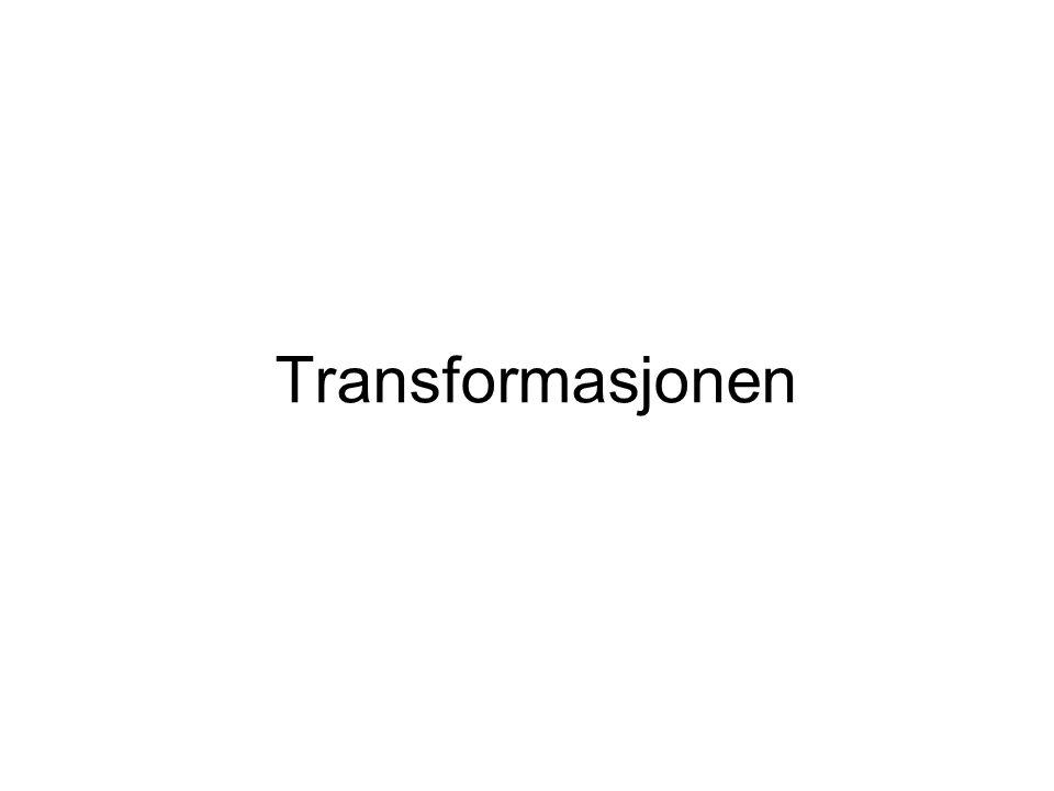 Transformasjonen