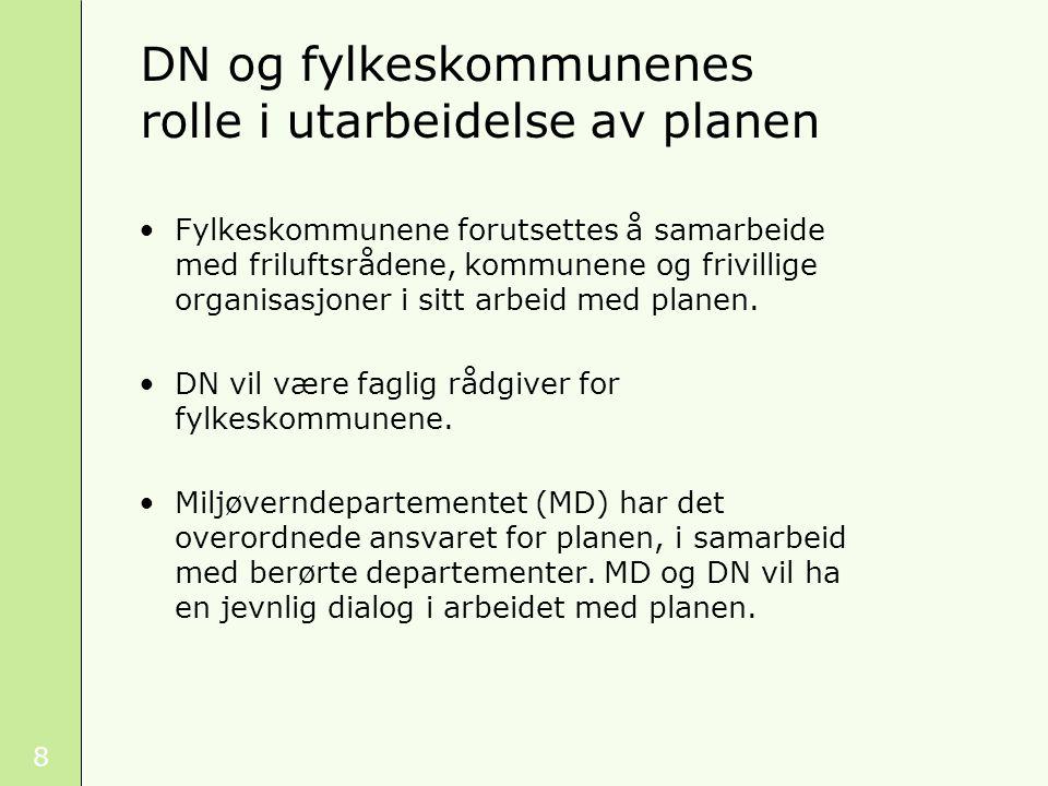 9 Planen skal inneholde en statusdel og en utviklingsdel. Innhold i planen Foto: Marianne Gjørv