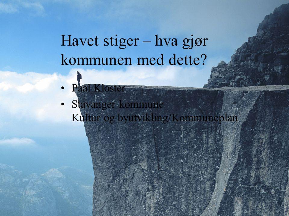 ? Den største flommen blir kanskje demografisk? Kan Norge ta i mot klimaflyktningene?