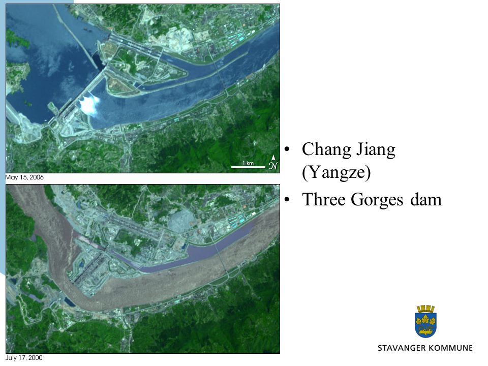 Chang Jiang (Yangze) Three Gorges dam