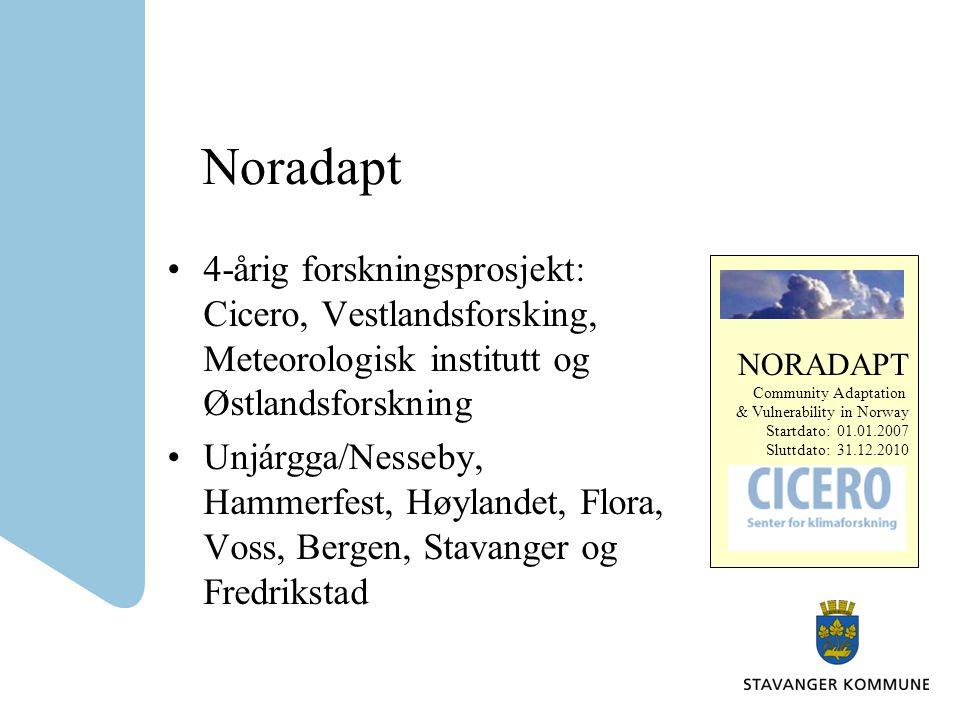 KlimaROS Prosjekt i Samarbeid med Sintef/NTNU