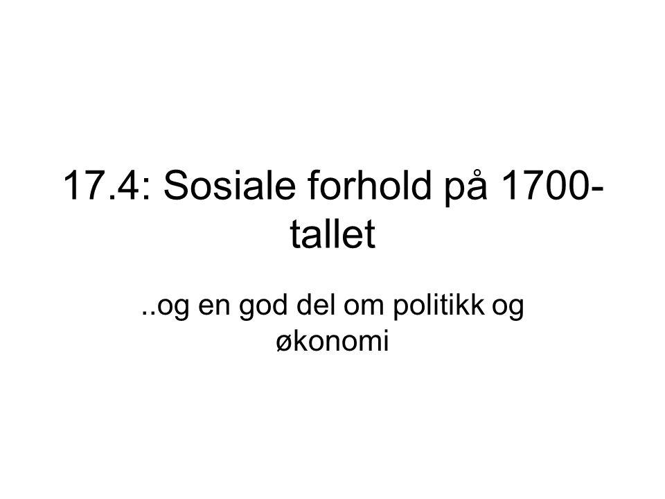 Enevoldskongene Fredrik 3 1648-1670 Christian 5 1670-1699 Fredrik 4 1699-1730 Christian 6 1730-1746 Fredrik 5 1746- 1766 Christian 7 1766-1808 Fredrik 6 1808-1814