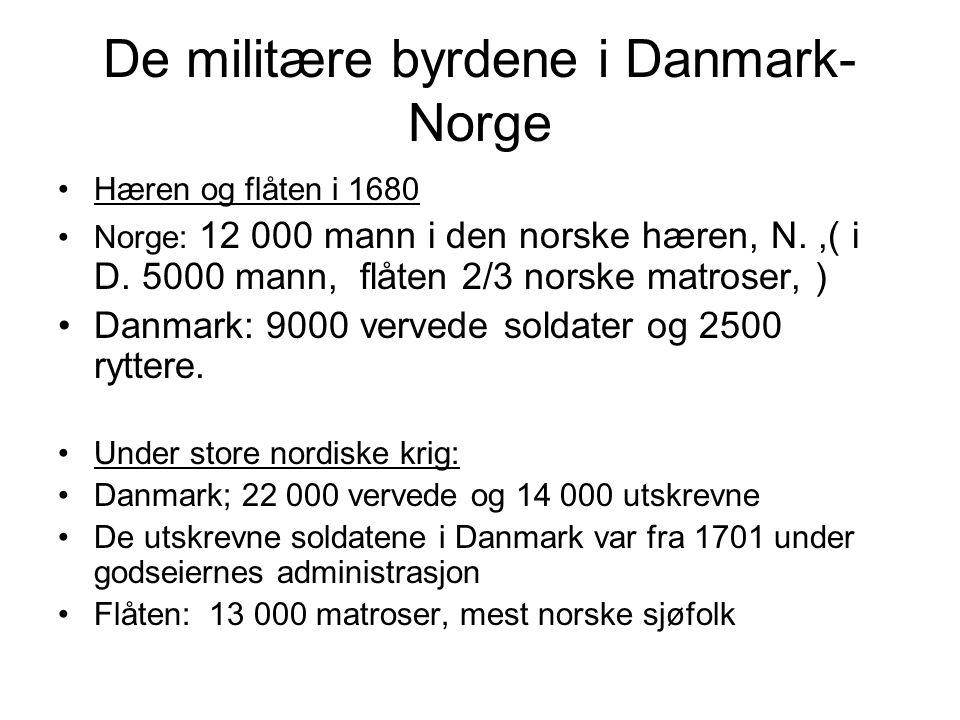 Lover som påvirket husmannsvesenet Matrikuleringen 1660-åra fastsatte skylda (verdien) på hver gård.