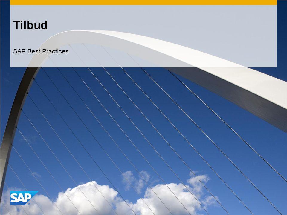 Tilbud SAP Best Practices