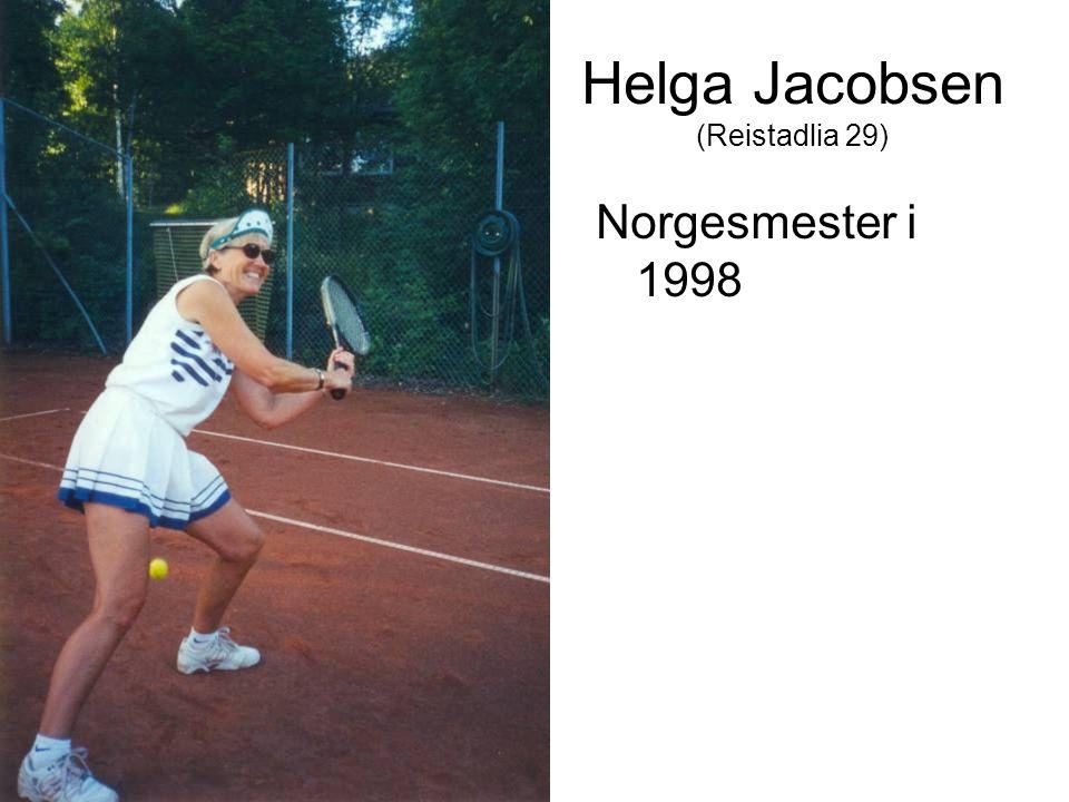 Helga Jacobsen (Reistadlia 29) Norgesmester i 1998