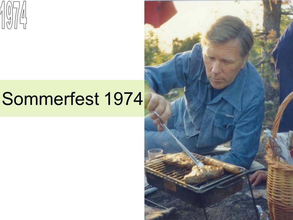 Sommerfest 1974