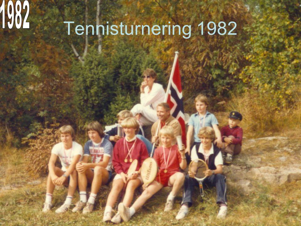 Tennisturnering 1982