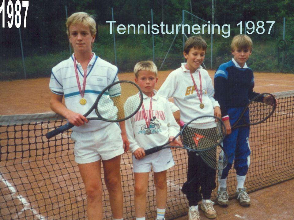 Tennisturnering 1987