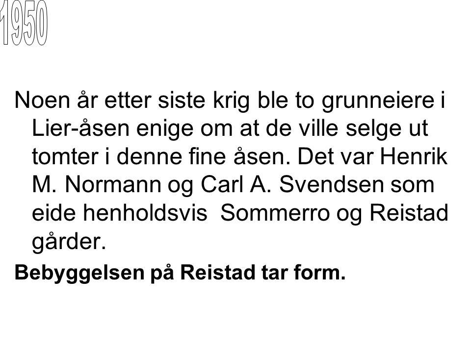 Pioneren Svein Nesje ble en sentral person i utbyggingen av Reistadfeltet.Han var den første som bygget der ute.