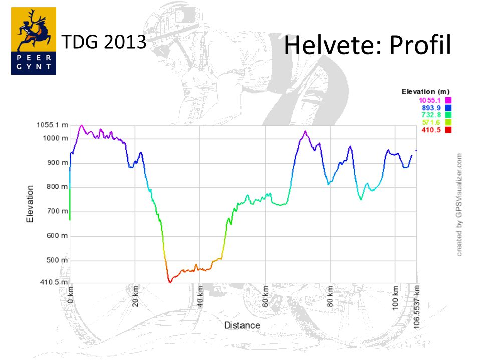 TDG 2013 Helvete: Profil
