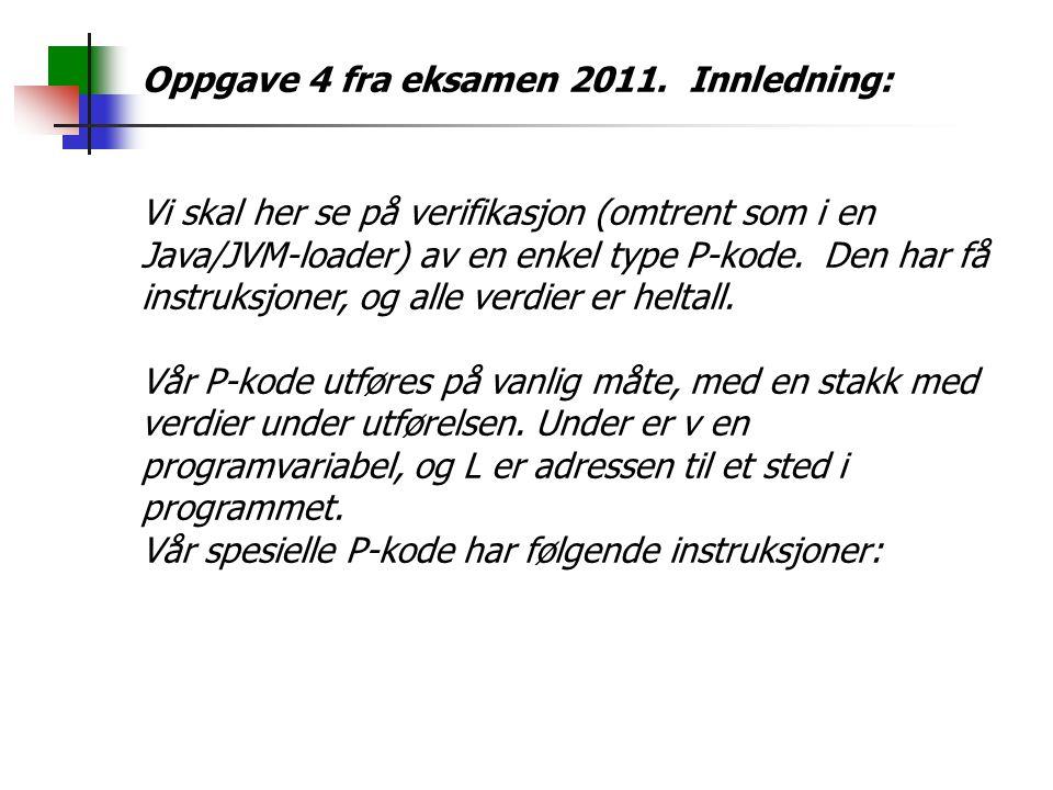 Oppgave 4 fra eksamen 2011.