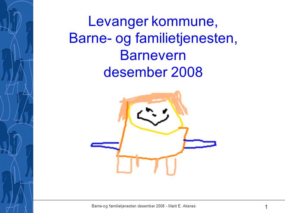Barne-og familietjenesten desember 2008 - Marit E.