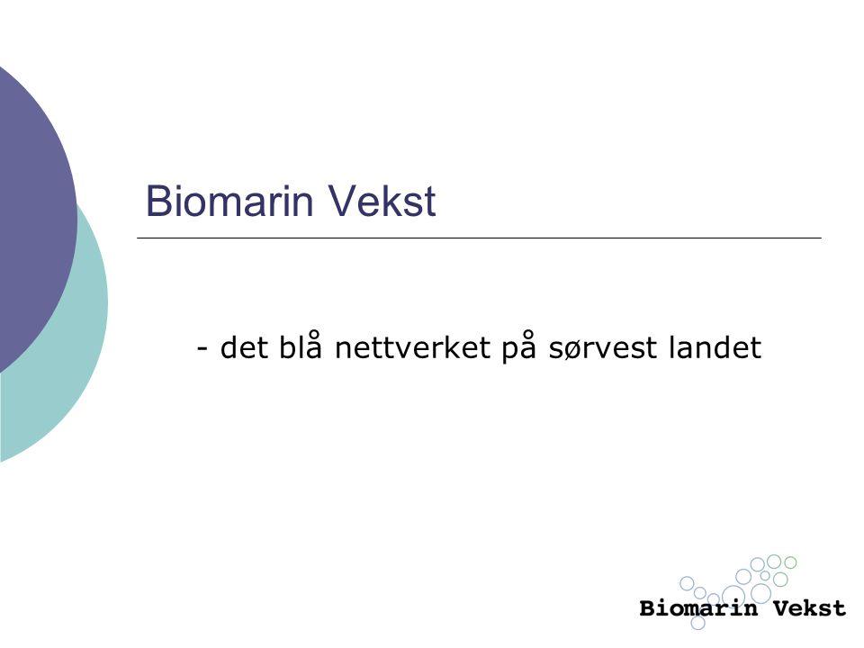 Biomarin Vekst - det blå nettverket på sørvest landet