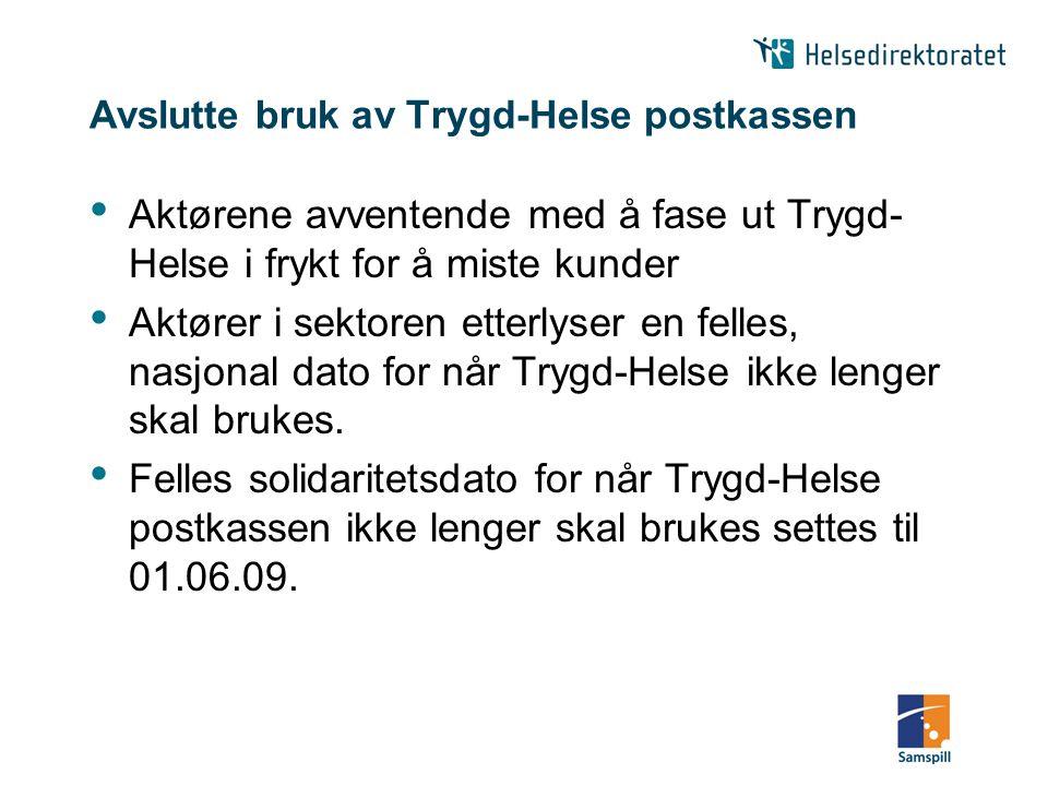 NHN-Adresseregister NHN-Adresseregister etablert som en tjeneste i Norsk Helsenett i 2006, men er ennå ikke i praktisk bruk Behov for nasjonal koordinering og samordning.