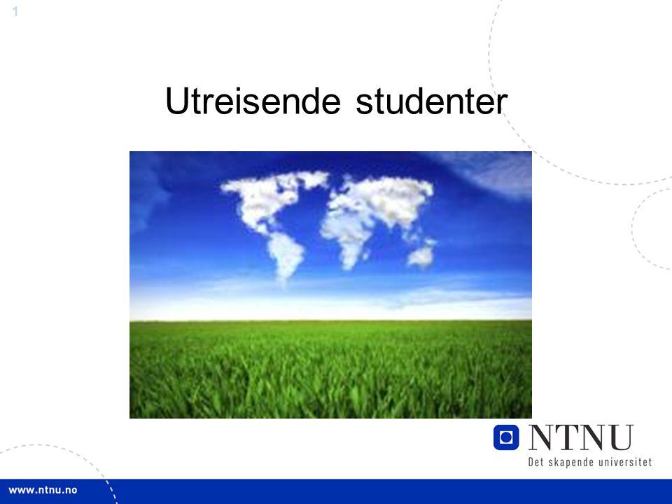 1 Utreisende studenter