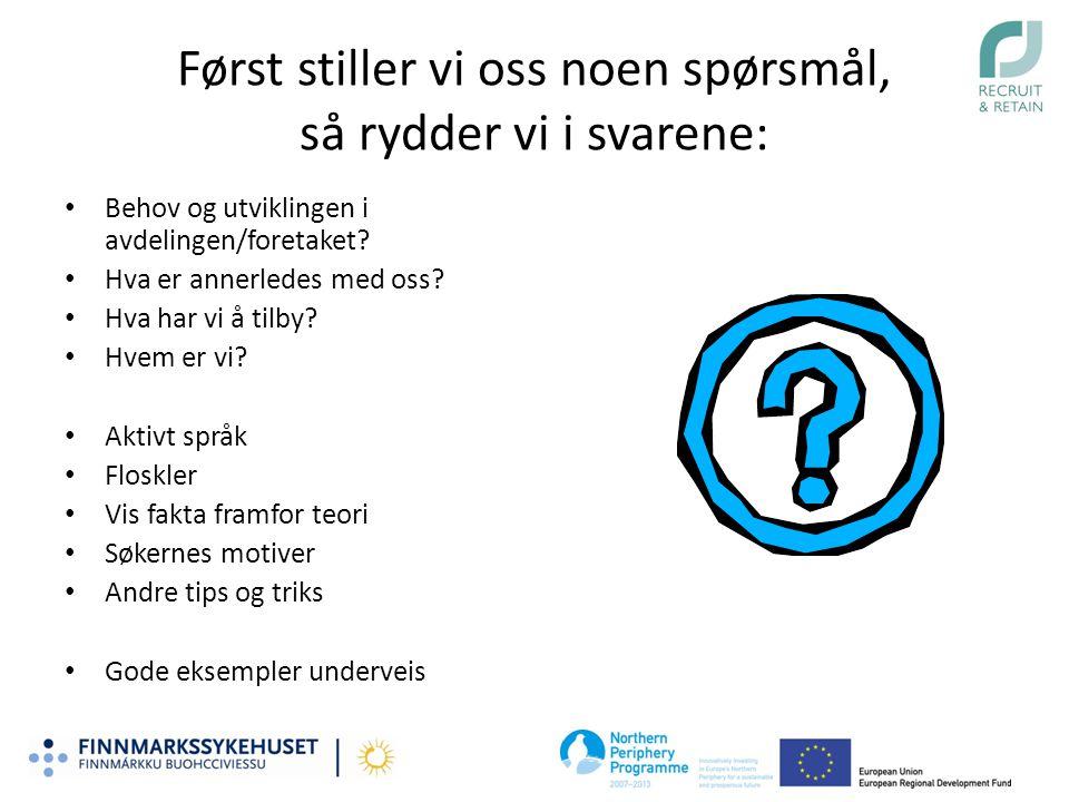 Fremhev stedet! Selg Finnmark!