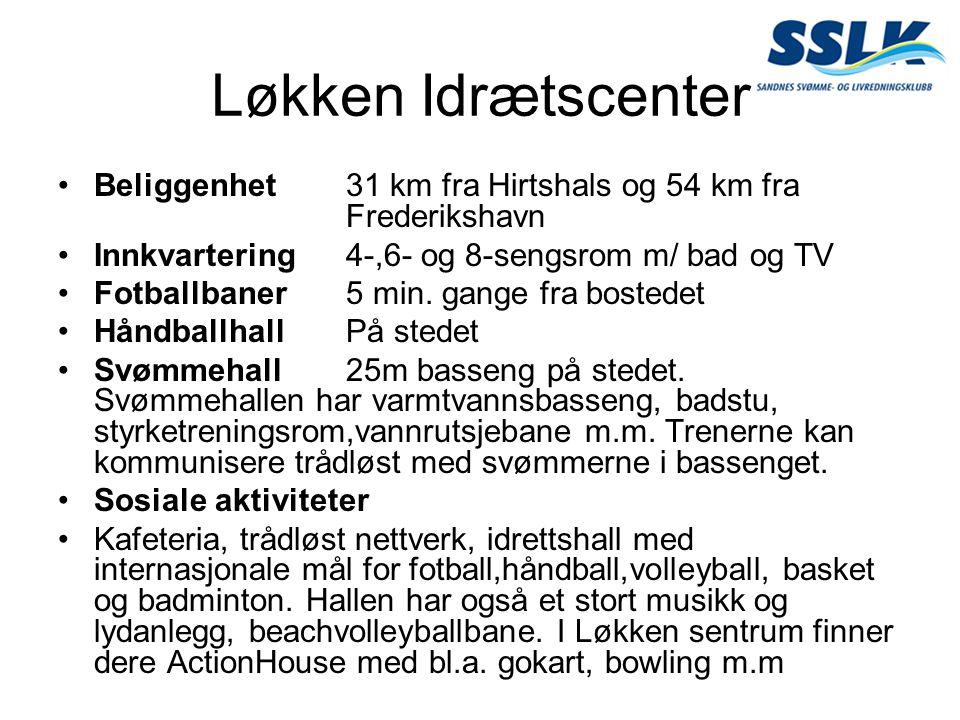 Beliggenhet31 km fra Hirtshals og 54 km fra Frederikshavn Innkvartering4-,6- og 8-sengsrom m/ bad og TV Fotballbaner5 min. gange fra bostedet Håndball