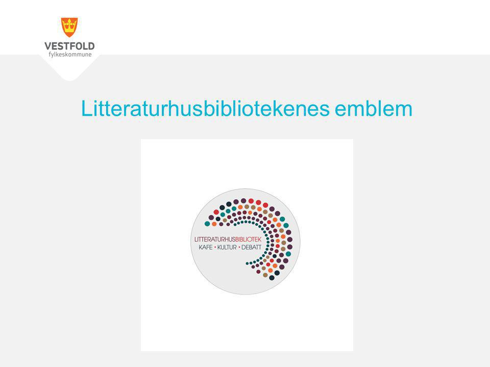 Litteraturhusbibliotekenes emblem
