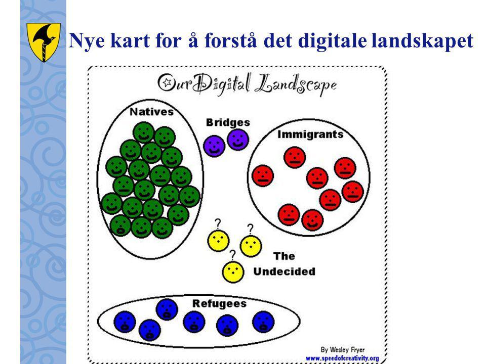 Nye kart for å forstå det digitale landskapet