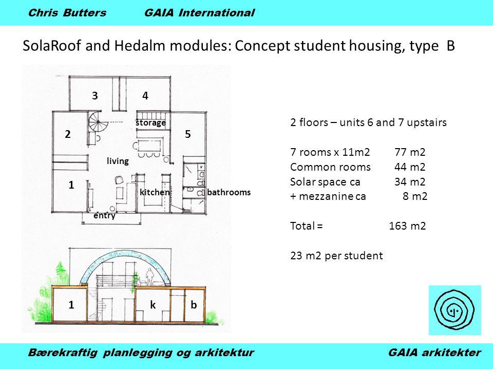 SolaRoof and Hedalm modules: Kindergarten schools Bærekraftig planlegging og arkitektur GAIA arkitekter Chris Butters GAIA International Hva kan være morsommere for småbarn enn en barnehage av såpebobler ?!