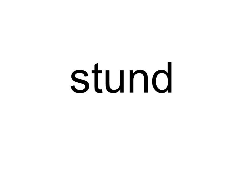 stund