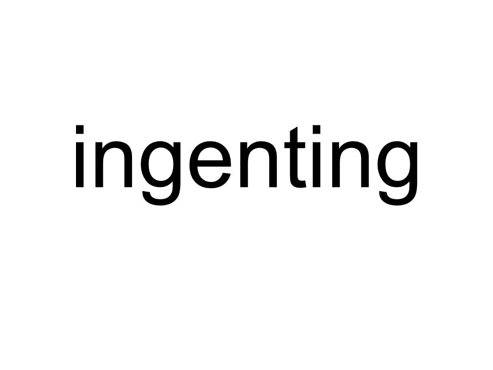 ingenting